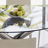 Limpieza de vidrio con brillo sin marcas