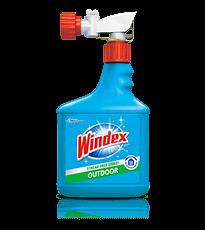 Limpiador de ventanas rociador para superficies exteriores Windex®