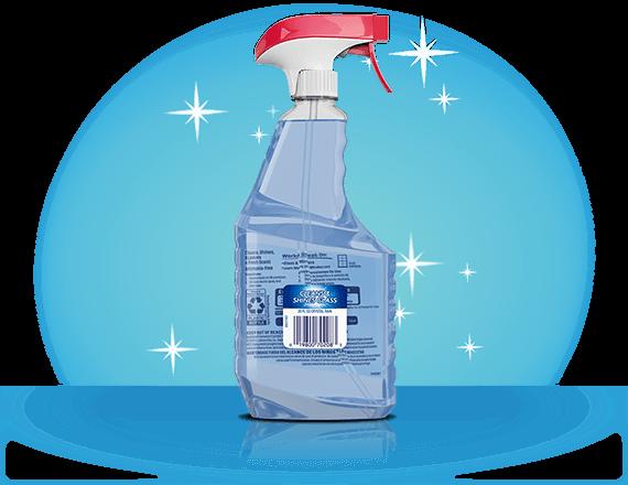 Limpiador de vidrios sin amoníaco Windex® dorso