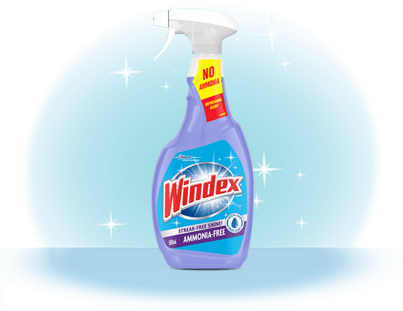 Windex® Crystal Rain Glass Cleaner Front