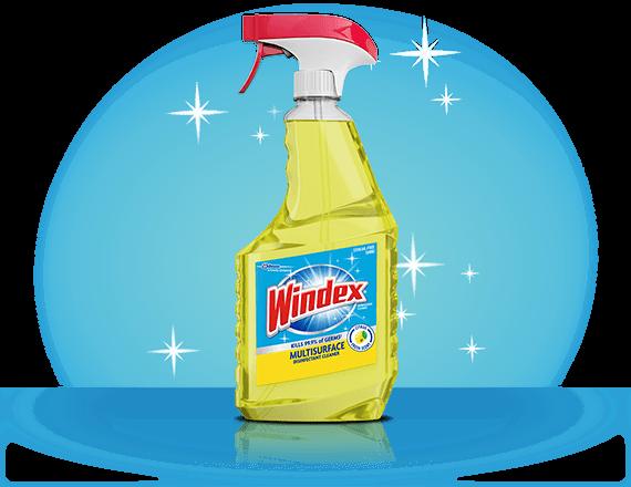Limpiador desinfectante multisuperficie Windex® frente
