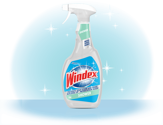 Windex® Shower Cleaner Front