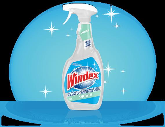 Windex® Shower Cleaner Front