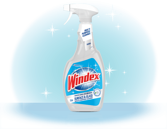 Windex® Surface and Glass Multi-Purpose Cleaner Front